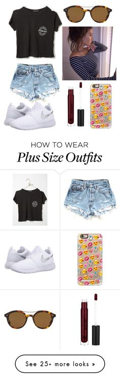 """""""everything his grey, his hair, his smoke, his dreams"""" by californiagolden on Polyvore featuring Giorgio Armani, Casetify and NIKE"""