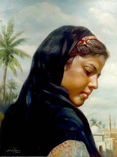 waleed yasin Egyptian born on August 27 1961 Painter Artist, Artist Art, Life In Egypt, Modern Egypt, Egypt Art, Arabic Art, Orient, Old Art, Beauty Art