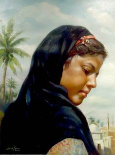 waleed yasin Egyptian born on August 27 1961 Modern Egypt, Egypt Art, Arabic Art, Old Art, Beauty Art, Artist Art, Female Art, Art Photography, Fine Art