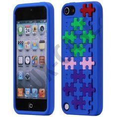 Puzzle (Blå) iPod Touch 5 Deksel