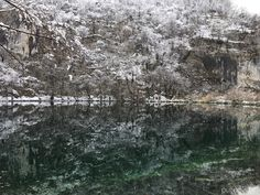 Plitvice Lakes National Park, definitely a great place to visit in winter  #Unesco #Croatia #travel #PlitviceLakes