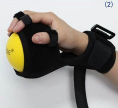 Deluxe Anti-Spasticity Hand Ball Splint- Functional Impairment Finger Orthosis  #PattersonMedical #Splinting Stroke Therapy, Hand Therapy, Therapy Tools, Ot Therapy, Therapy Ideas, Occupational Therapy, Physical Therapy, Finger Flexion, Spinal Cord Stimulator
