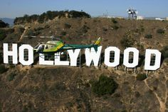 Hollywood Sign fly-by! It's the sign's 90th anniversary year! July 14, 2013. (Photo Credit: July 14, 2013)