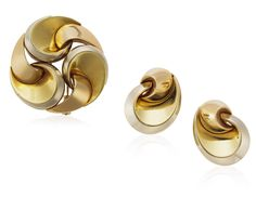 Marina B Tri-gold Jewelry Set