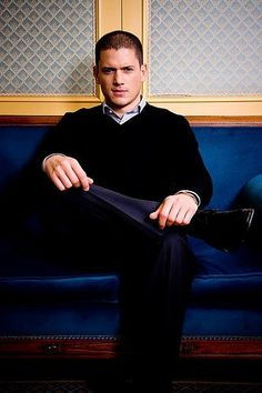 A classy man, indeed.  Wentworth Miller