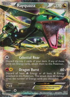 Rayquaza EX (Dragons Exalted DRX 85)