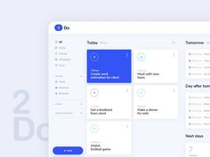 Tasks by lluck - Dribbble