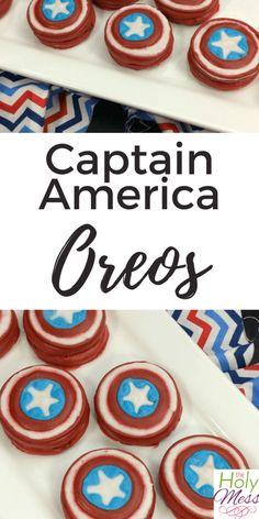 Captain America Oreo