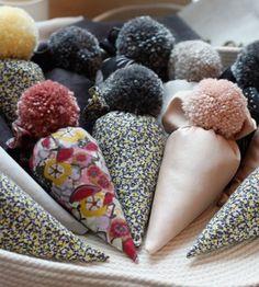 Craft Tutorial: Sachet with Pom Pom original
