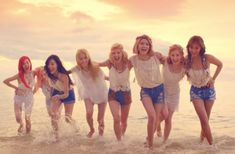 Find images and videos about kpop, party and snsd on We Heart It - the app to get lost in what you love. Sooyoung, Yoona, Snsd, Jessica Jung, South Korean Girls, Korean Girl Groups, Yuri, Beach Girls, Kpop Outfits