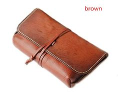 * Its handmade using genuine cow leather nubuck. * Two main pockets for bill,4 card slot4. * We need 3-5 days to finish the wallet before we