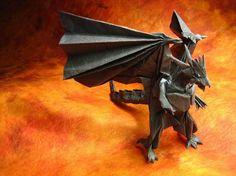 cool origami dragon
