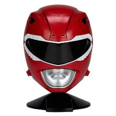 Mighty Morphin Power Rangers Legacy Red Ranger Helmet - Bandai - Power Rangers - Roleplay at Entertainment Earth