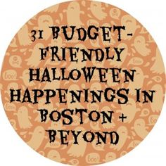 31 Budget-Friendly Halloween Events in the Greater Boston Area 2014 | Boston on Budget