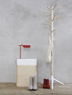 Iittala Christmas Home. Iittala + Time of the Aquarius collaboration. Vakka stackable plywood storage boxes.