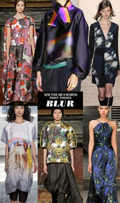 pattern people AW14 Womens Print Trends NY Blur Runway | AW14 Womens New York Print Stories