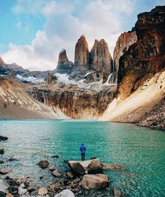 Torres del Paine, Chile! ❤️RT always appreciated! (andrewling) #travel #wanderlust #ttot