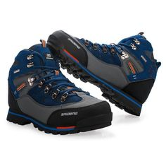Men  Leather Outdoor Hiking Shoes New Male Sport Shoes Trekking Mountain Climbing