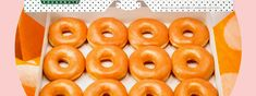 Krispy Kreme, Doughnuts, Bagel, Lemon, Bread, Glaze, Desserts, Food, Isomalt