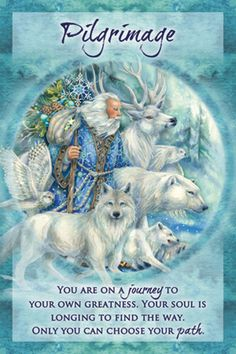 """Pilgrimage"" Magical Times Empowerment Cards par Jody Bergsma"