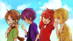 Vocaloid, Nichijou, Voice Actor, Boy Art, Kawaii Anime, Manhwa, Chibi, Naruto, Geek Stuff