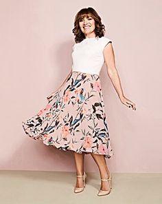 Lorraine Kelly Fit & Flare Dress
