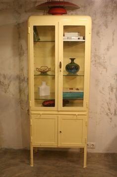 Vintage Medical Cabinet, 1950s 7