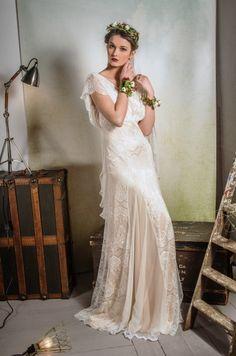 SS14 Belle &amp- Bunty vintage inspired modern wedding dresses: The ...