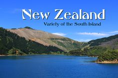 New Zealand – Variety of the South Island, Calendar Sheet: Cover