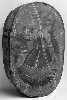 Bride Box, c. 1770 - 1800.