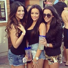 My 3 favorite YouTube Beauty Icons: Nicole Guerriero, SMLx0, & Carli Bybel <3