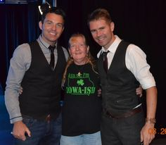 Taken at the Byrne and Kelly show in Des Moines, IA August 26, 2014. Ryan Kelly, Cheryl Palmer, Neil Byrne