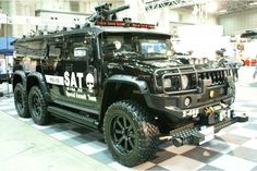 The Japanese Special Assault Team... holy f#ck is that a mini gun on your pimped out hummer?