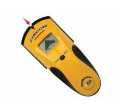 Zircon StudSensor e50 tunnistaa koolingit ja johdot jopa 38mm syvyydestä. n 40e. Stud Finder, Patent Pending, Display Screen, Wood And Metal, Hand Tools, Ceilings, Floors, Studs, Target
