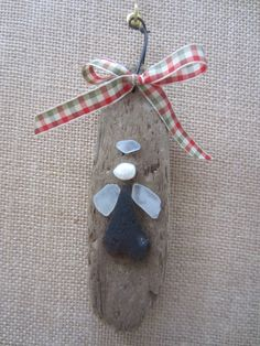 "Driftwood Sea Glass Angel ""nautical style"" by TheTearsofMermaids on Etsy"
