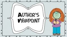 Author's Viewpoint Powerpoint Mini-Lesson Class Activities, Reading Activities, Authors Viewpoint, 5th Grade Ela, Guided Practice, Authors Purpose, Teaching Language Arts, Library Ideas, In Writing