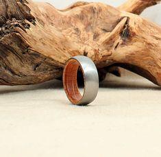 Titanium Whiskey Barrel Ring |