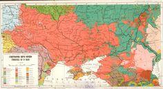 Łatynkowa mapa Ukrajiny