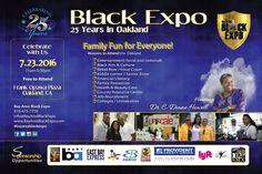 25TH ANNIVERSARY BLACK EXPO IN OAKLAND HONORING DR. C. DIANE HOWELL #oaklandmovingforward #oakland #frankogawaplaza