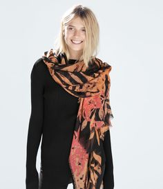PRINTED SCARF-Scarves-Accessories-WOMAN | ZARA United States