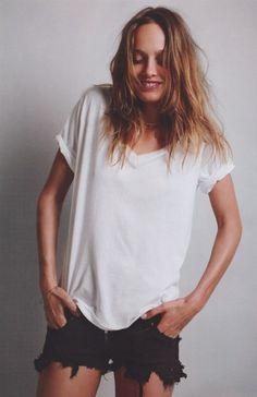 my one outfit forever...#karmen pedaru #vogue paris #march 2012 #mario sorrenti