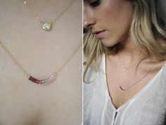 Delicate Necklace - This was so fun to make, I want to wear mine everyday.