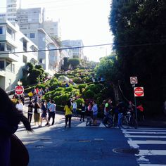 Crooked Street SF 2014