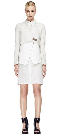 V S P Spring/Summer 2015 #vsp #leather #design #spring #summer #fashion #jacket Shearling Coat, Ss 15, Spring Summer 2015, Sophisticated Style, Peplum Dress, Leather Design, Skirts, Pants, Jackets