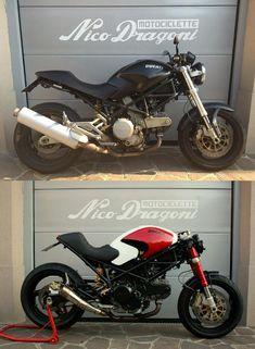 "Ducati Monster ""Marco #16 "" - Nico Dragoni Motociclette"