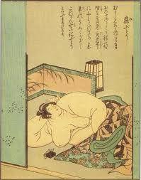 絵本百物語 - 寝肥り Ero Guro, Japanese Monster, Medieval Paintings, Kuniyoshi, Japanese Painting, Japanese Prints, Japan Art, Old Art, Japanese Culture