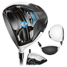 TaylorMade Men's SLDR White Golf Driver, Left Hand, Graphite, 14-Degree, Stiff TaylorMade.Easy and intuitive SLDR sliding weight promotes up to 30 yards of shot shape adjustment.