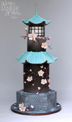 Sakura Zen - Cake by Very Unique Cakes by Veronique