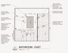 Beautiful Bathroom Shower Elevation in Interior Design For Home with Bathroom Shower Elevation - Bathroom Design and Shower Ideas Attic Bathroom, Master Bathroom, Washroom, Bathroom Ideas, Shower Recess, Elevation Drawing, Tile Layout, Shower Niche, Sloped Ceiling