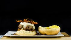 Robby-Rockstar-Burger  #Burger #Apfelchutney